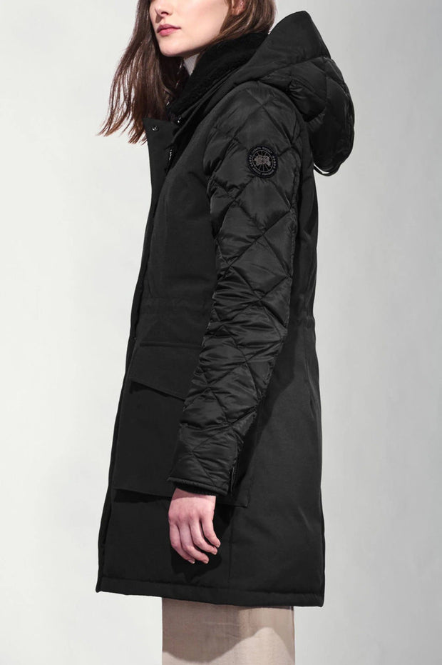 Womens Elwin Parka Black Label-Canada Goose-Te Huia New Zealand