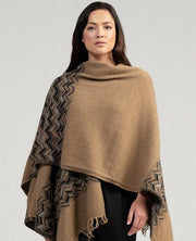 Womens Escher Wrap-Merinomink-Te Huia New Zealand