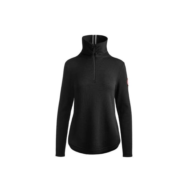 Canada Goose-Womens Fairhaven 1/4 Zip Sweater Classic Disc - buy online with www.tehuianz.com