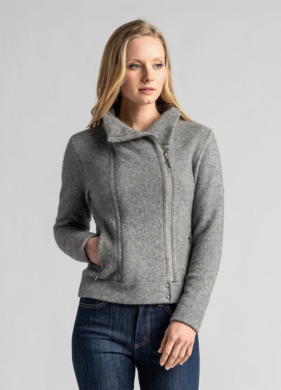 Womens Felted Fiord Jacket-Untouched World-Te Huia New Zealand