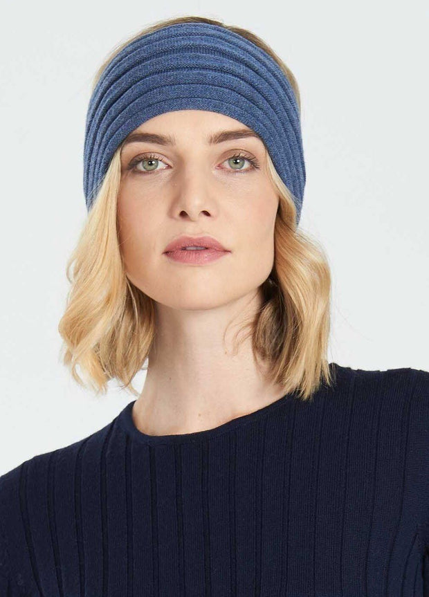 Womens Headband-Royal Merino-Te Huia New Zealand