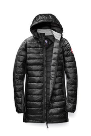 Womens HyBridge Lite Hooded Coat-Canada Goose-Te Huia New Zealand