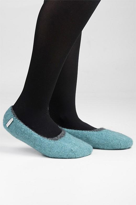 Womens In Flight Slipper-Merinomink-Te Huia New Zealand