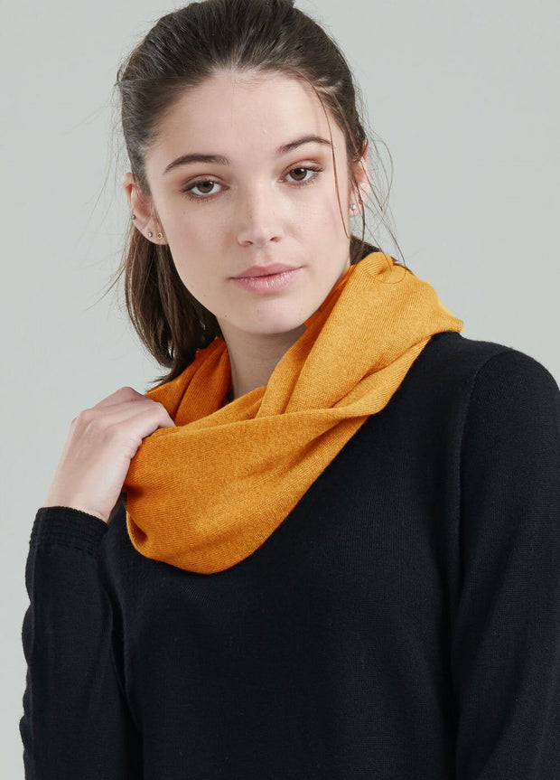 Womens Infinity Scarf-Royal Merino-Te Huia New Zealand