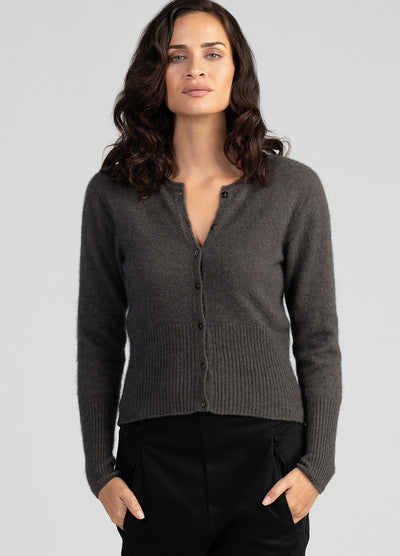 Womens Kapua Crop Cardi-Untouched World-Te Huia New Zealand