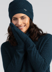 Womens Kapua Gloves-Untouched World-Te Huia New Zealand