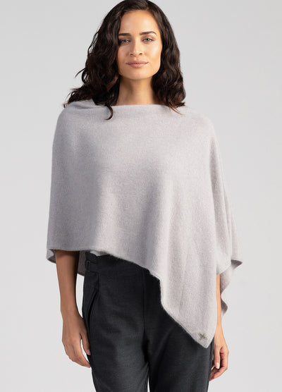 Womens Kapua Poncho-Untouched World-Te Huia New Zealand