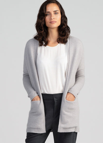 Womens Kapua Relax Cardi-Untouched World-Te Huia New Zealand