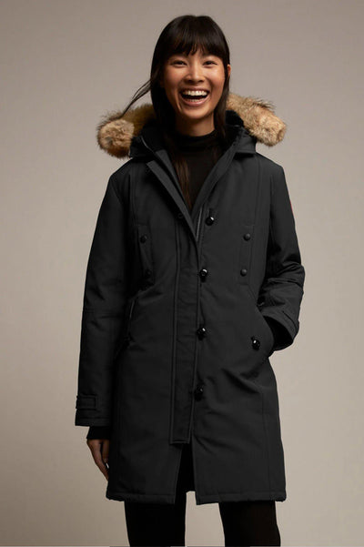 Womens Kensington Parka Fusion Fit-Canada Goose-Te Huia New Zealand