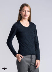 Untouched World-Womens Merino Scribble Scoop - buy online with www.tehuianz.com
