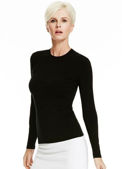 Paula Ryan-Womens Merino Slim Fit Long Sleeve Crew - buy online with www.tehuianz.com