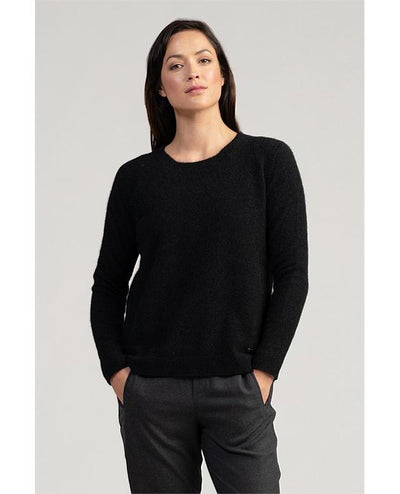 Womens MM Relaxed Sweater-Merinomink-Te Huia New Zealand