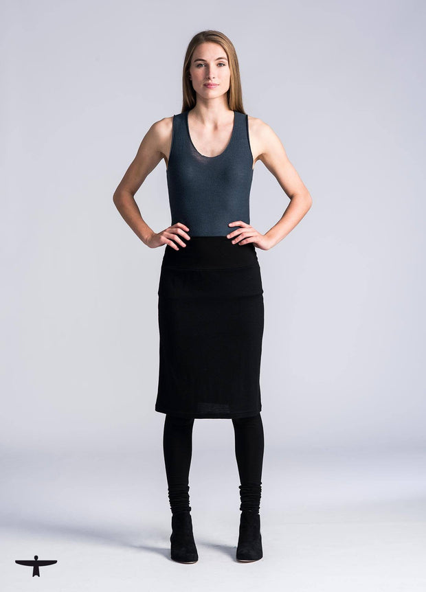 Untouched World-Womens Mountainsilk Dune Skirt - Black - buy online with www.tehuianz.com