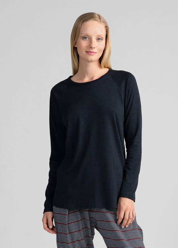 Womens Easy Merino Crew-Untouched World-Te Huia New Zealand