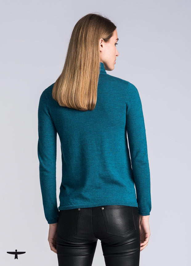 Womens Pip Sweater - Sea Green-Untouched World-Te Huia New Zealand