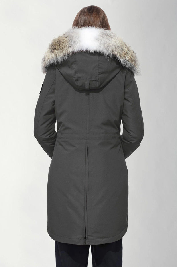 Canada Goose-Womens Rossclair Parka Black Label - buy online with www.tehuianz.com