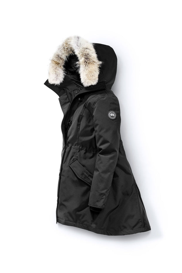 Womens Rossclair Parka Black Label-Canada Goose-Te Huia New Zealand