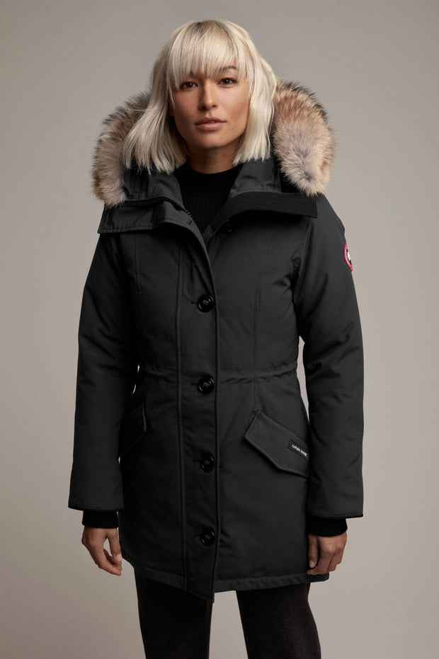 Womens Rossclair Parka Fusion Fit-Canada Goose-Te Huia New Zealand