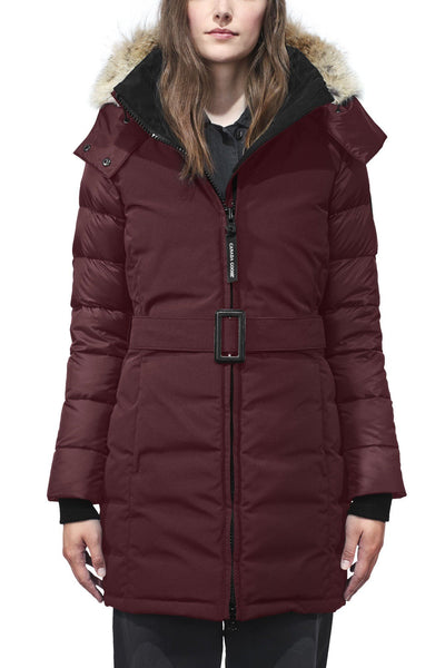 Womens Rowan Parka Black Label-Canada Goose-Te Huia New Zealand