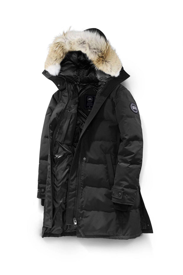 Canada Goose-Womens Shelburne Parka Black Label - buy online with www.tehuianz.com