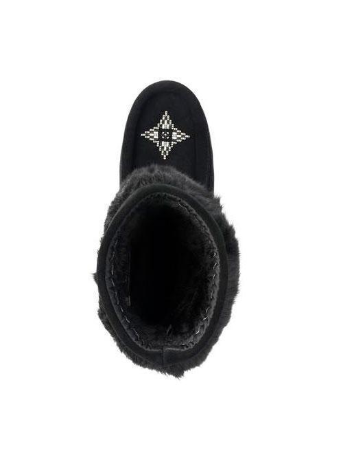 Womens Waterproof Half Mukluk - Black-Manitobah Mukluks-Te Huia New Zealand