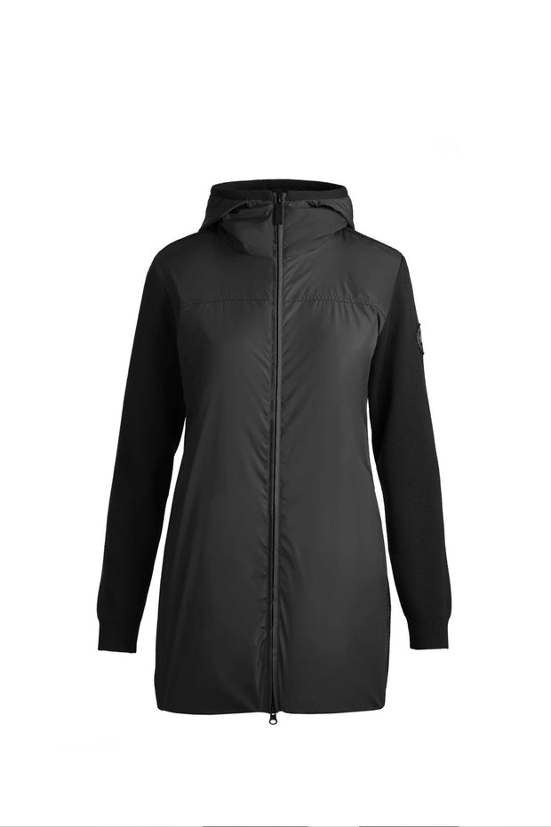 Womens WindBridge Hooded Jacket Classic Disc-Canada Goose-Te Huia New Zealand