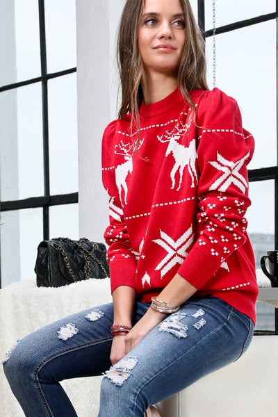 Prancer Sweater