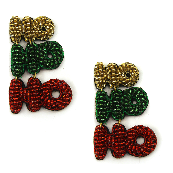 Ho Ho Ho Statement Earrings