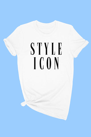 """STYLE ICON"" GRAPHIC TEE"
