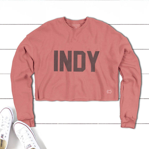 INDY - Indianapolis Crop Fleece Crew