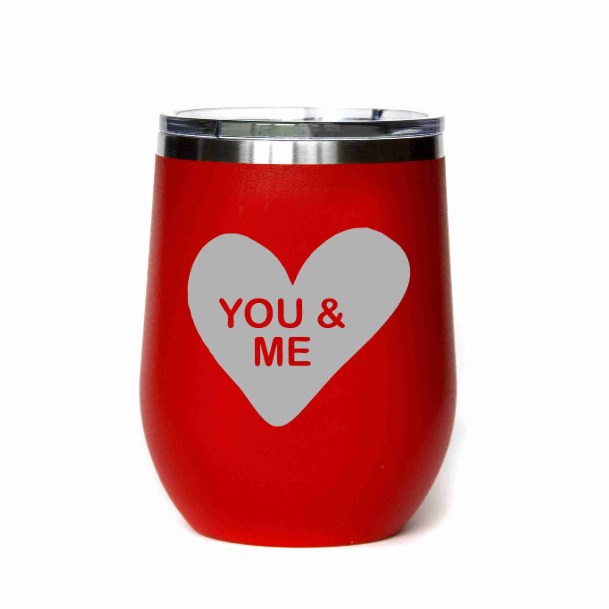 Valentine's Day Candy Heart You & Me Mug - 12 oz.