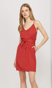 Evan Tie-Waist Cami Dress