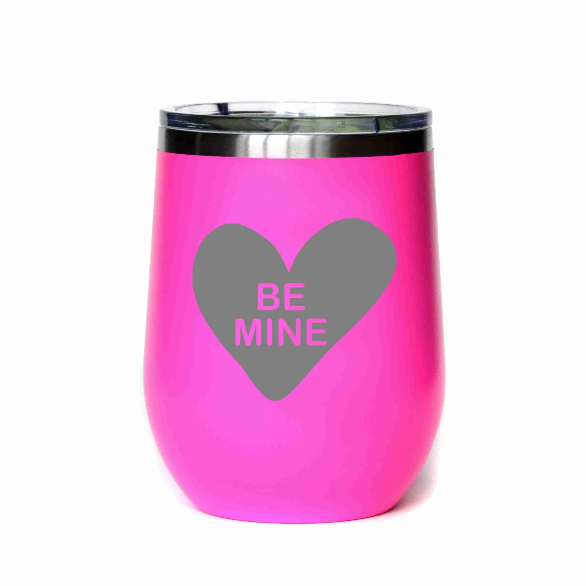 Valentine's Day Gift Be Mine Candy Heart Mug - 12 or 16 oz.