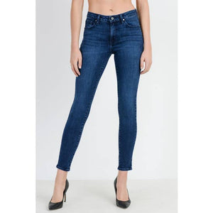 JUST BLACK DENIM- Stretchy Skinny Jeans