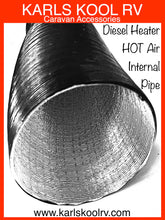 Diesel heater  internal pipe 60mm extends to 70cm AUSTRALIAN STOCK