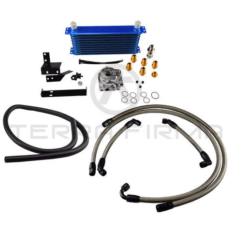 GReddy/Trust Oil Cooler, 10-Row, Fender Mount (External) 12024412 For Nissan Skyline R32 GTR