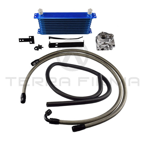 GReddy/Trust Oil Cooler, 10-Row, Fender Mount 12024615 For Nissan Skyline R32 All