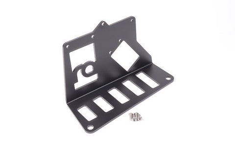 Radium Engineering Fuel Surge Tank Mtg Bracket - Universal Angled Mount For Nissan Skyline/Silvia/180SX