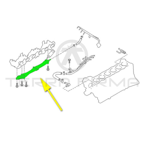 Nissan Skyline R32 R33 R34 GTR RB26DETT Connector Water