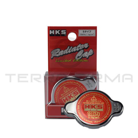 HKS S Type Radiator Cap 108kPa For Nissan Skyline R32 R33 R34 GTR 15009-AK004