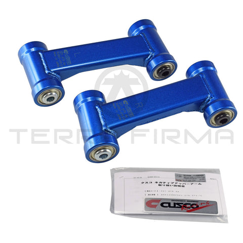 Cusco +5 mm Front Negative Camber Upper Control Arms For Nissan Skyline R32 All 231 479 AA