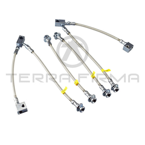Nissan Skyline R32 GTR Nismo Stainless Brake Hose Set
