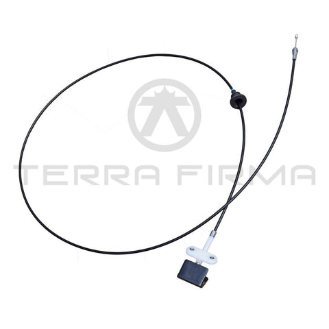 Nissan Skyline R32 All Hood Release Cable Assembly