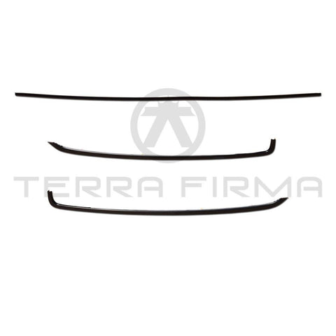 Nissan Skyline R32 All Front Window Molding Set