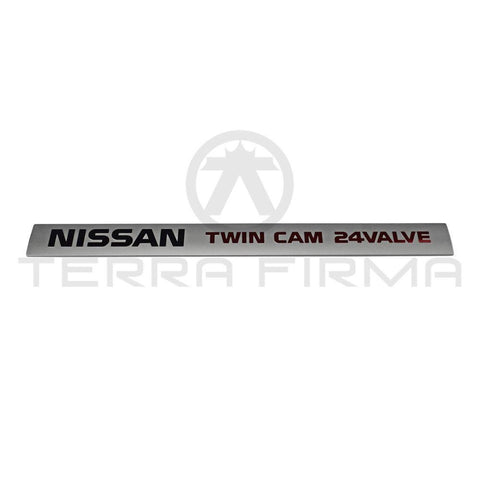 Nissan Skyline R32 R33 GTR Engine Valley Ornament Emblem