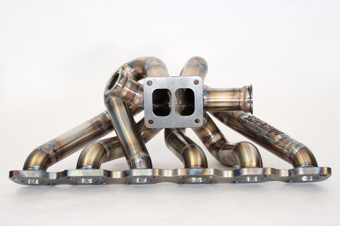 DOC Race RBX Twinscroll Top Mount Exhaust Manifold For Nissan Skyline RB20/RB25/RB26