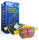 EBC Yellowstuff 4000 Street/Track Rear Brake Pads For Nissan Skyline R32 GTR GTST w/Sumitomo Calipers R33 GTS25 R34 GTT DP4826R