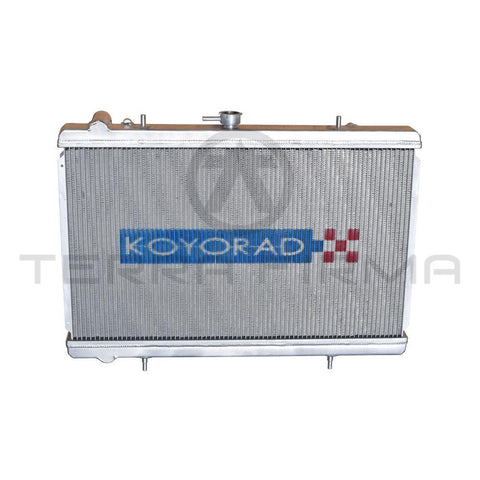 Koyorad Nissan Skyline R34 GTR Performance Aluminum Radiator 48mm high fin density, Early