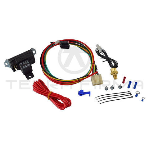 "Mishimoto Adjustable Radiator Fan Controller Kit, 1/8"" NPT style"