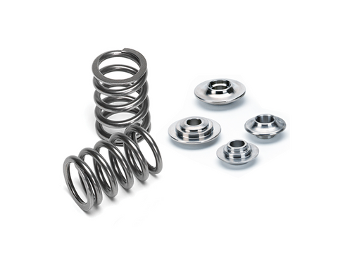 Supertech Nissan SKYLINE DOHC 24V (w/Solid Lifters & Long Valves) Dual Valve Spring Kit For Nissan Skyline RB20